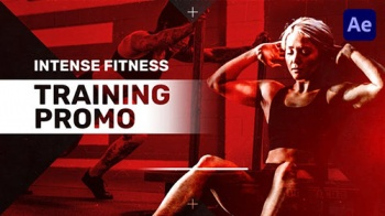 Intense Fitness Training Promo - Project for After Effects (Videohive)