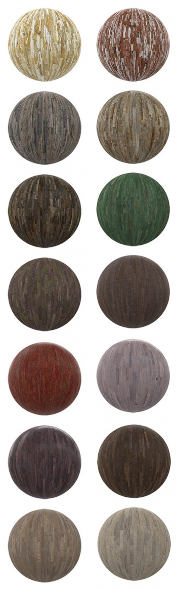 CGAxis PBR v04 - Wooden Tiles p.4