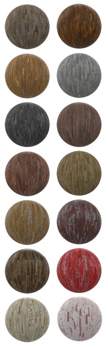 CGAxis PBR v04 - Wooden Tiles p.5