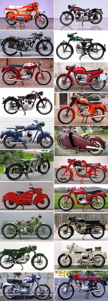 Italian Vintage and Classic Motorcycles Photos