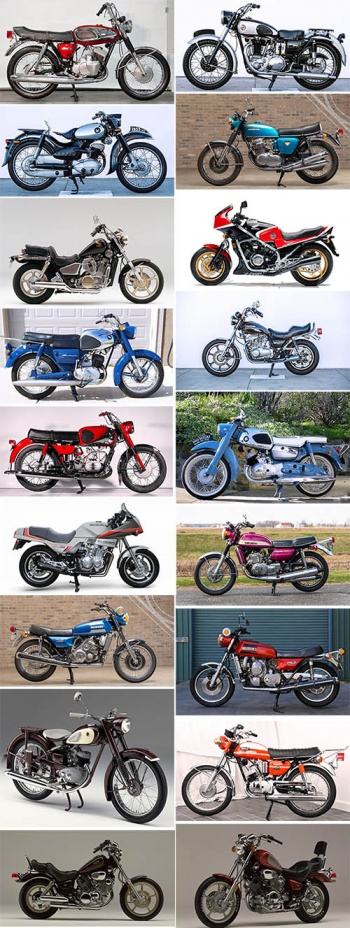 Japanese Motorcycles 1950 - 1980s