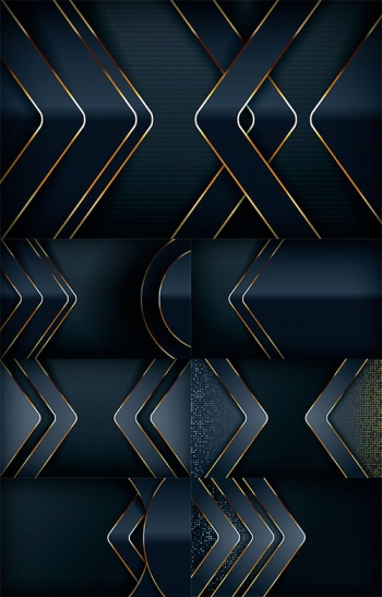 Perfection of Colors and Lines - Vector Backgrounds