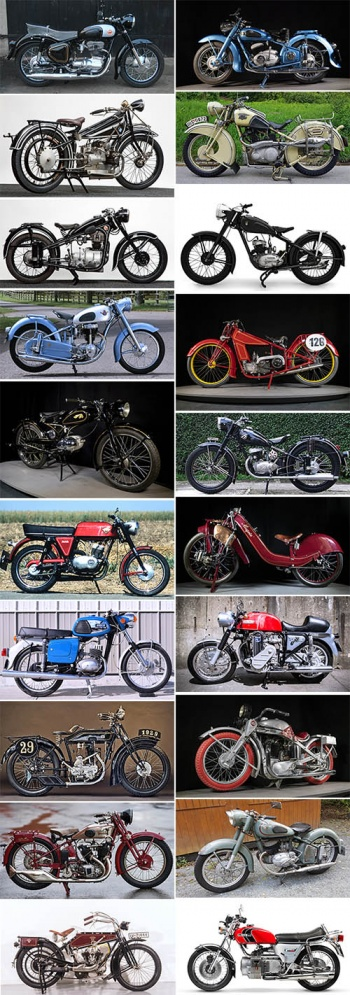 German Vintage and Classic Motorcycles (1910 – 1980)