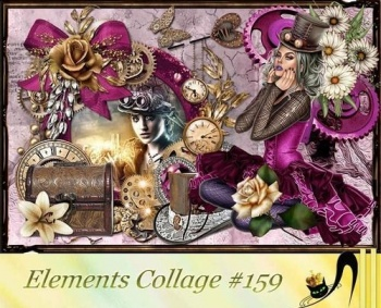Elements Collage 159 (PNG, PSD, JPG)